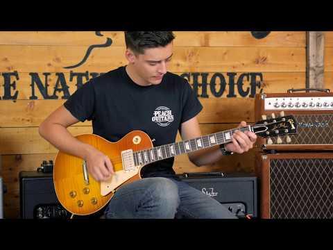 Gibson Custom Limited Run Mick Ralphs 1958 Les Paul Standard #8 7049 Replica