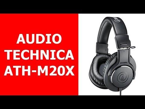 Audífonos de Estudio Baratos: Audio Technica ATH M20X Review en ESPAÑOL