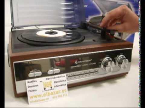 Tocadiscos Soundmaster PL-186