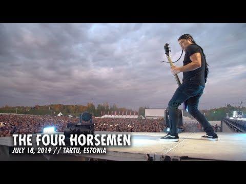 Metallica: The Four Horsemen (Tartu, Estonia - July 18, 2019)