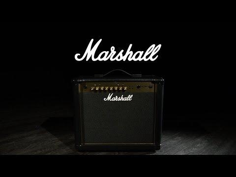 Marshall MG30GFX Gold 30W Guitar Combo | Gear4music demo