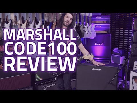 Marshall CODE100 Review - An Amazing 100 Watt Digital Modeling Amp