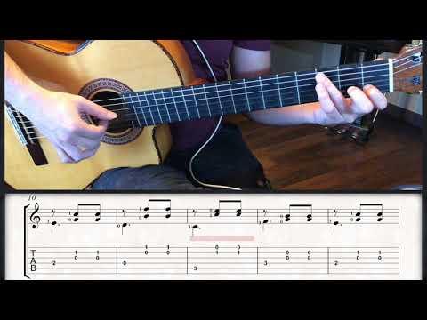 Vals en Do Mayor (muy fácil) Ferdinando Carulli /guitarbn