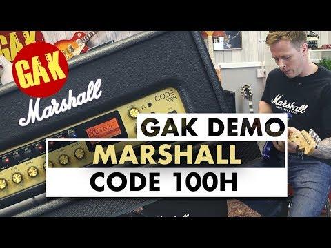 GAK Demo: Marshall Code 100H