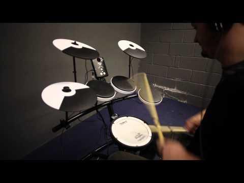 Roland TD-1KV electronic drum kit hands-on demo for Rhythm Magazine