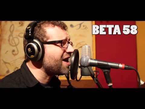 Shure SM 58 Vs Beta 58 Male Voice Test