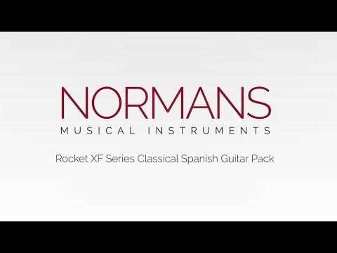 Rocket XF Series Classical Spanish Guitar Pack