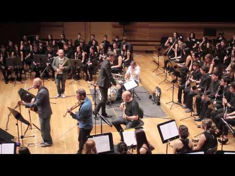 """Contratiempos. Celtas Cortos y Banda Conservatorio """"Miguel Delibes"""""""