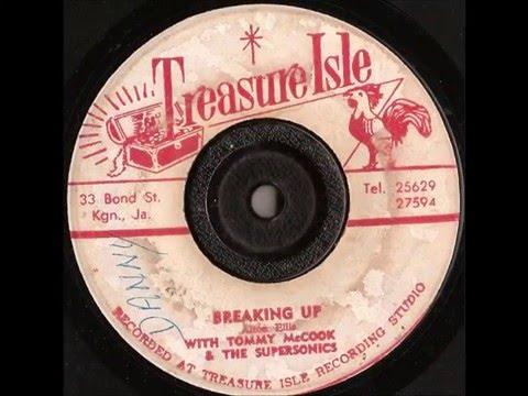 Alton Ellis & Tommy McCook & The Supersonics – Breaking Up - treasure isle records 1968