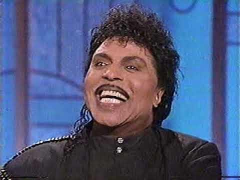 Little Richard 6-19-90 late night TV performance, 3 songs & intvw