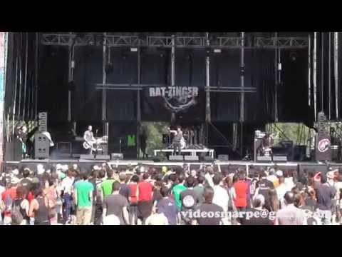 """RAT-ZINGER """"Rock´n´Roll para hijos de perra"""" Viña Rock LIVE"""