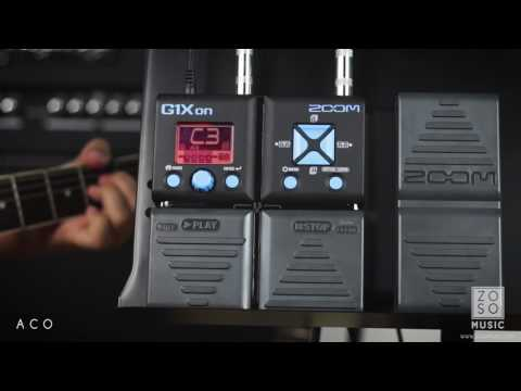 Demo // Zoom G1Xon