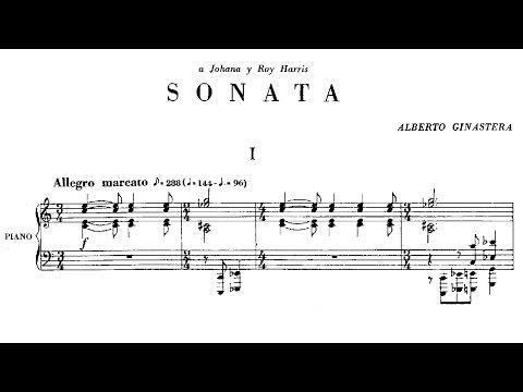 Alberto Ginastera - Piano Sonata No. 1 (1952)