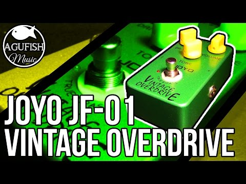 Joyo JF-01 Vintage Overdrive Demo | Best $30 Overdrive Pedal??