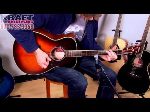 Kraft Music - Yamaha FS720S Acoustic Guitar Demo with Jake Blake