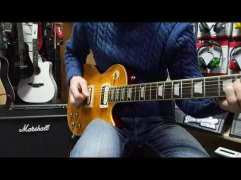 Testing Epiphone Slash Appetite Les Paul Standard guitar