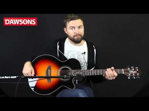Takamine GF15CE- BSB Acoustic guitar Review
