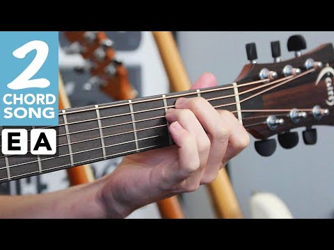 Beginner Guitar Song 1 'For What It's Worth' by Buffalo Springfield - EASY 2 Chord Song