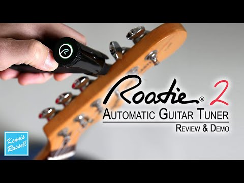 Roadie 2 Automatic Guitar Tuner Review & Demo