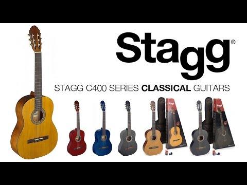 Stagg C400 Series Classical Guitars | C440M C430M C410M C405M