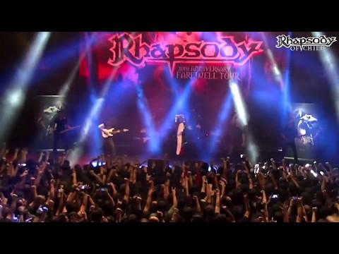Rhapsody - Symphony of Enchanted Lands (Chile 2017) Full HD
