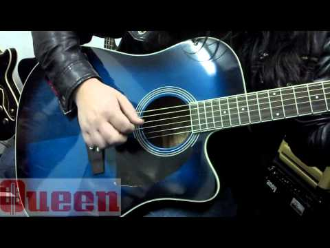 Guitarra Electroacústica Ibanez PF15ECE TBS