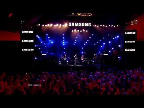 Duran Duran - You Kill me with Silence FT Mr Hudson (live Jimmy Kimmel)