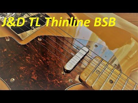 Jack & Danny TL Thinline BSB Butterscotch Blonde - Test Drive