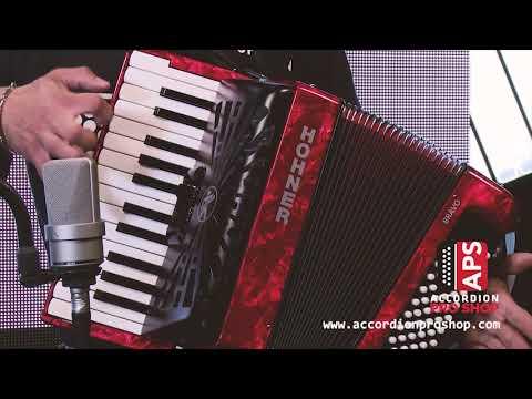 Hohner Bravo II 48 Bajos Piano