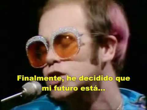 """Goodbye Yellow Brick Road"" - Elton John [Subtítulos en español]."