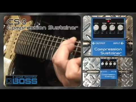 CS-3 Compression Sustainer [BOSS Sound Check]