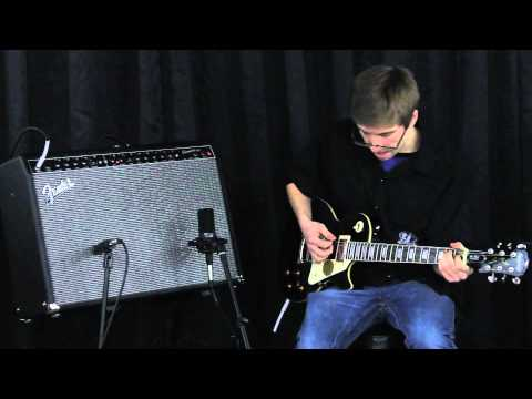 TJ's Music Demo: Epiphone Standard Les Paul w/ Fender Champion 100