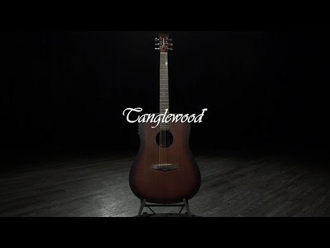 Tanglewood TWCR DE Crossroads Electro Acoustic, Whiskey Burst | Gear4music demo