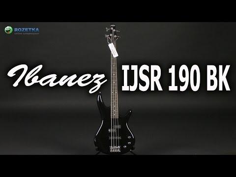 Распаковка Ibanez IJSR190 BK