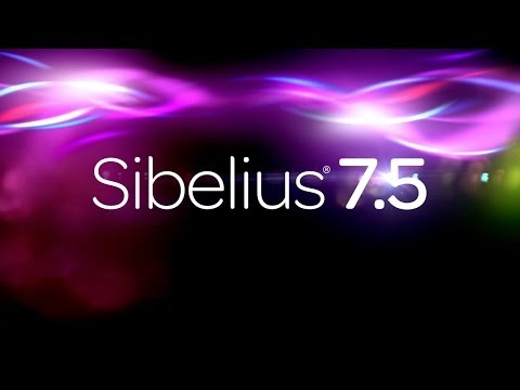 Introducing Avid Sibelius 7.5