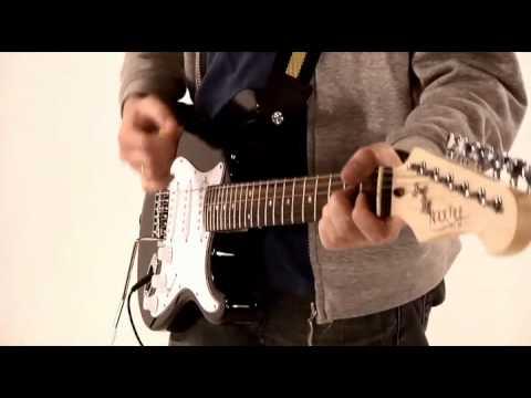 Rocktile Banger's Pack E-Gitarre Set, 7-teilig Black