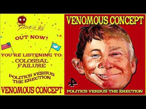 Venomous Concept - Politics Versus the Erection (2020) Full Album Stream