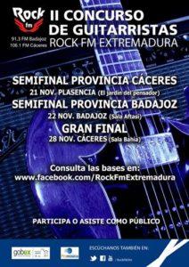Concurso de Guitarristas ROCK FM