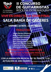 Concurso guitarristas Rock FM