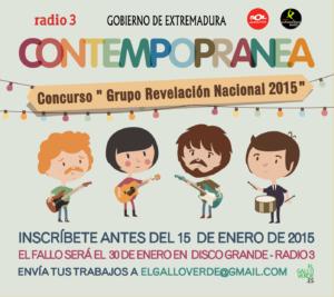 GRUPO REVELACIÓN NACIONAL 2015