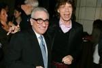 Martín Scorsese y Mick Jagger