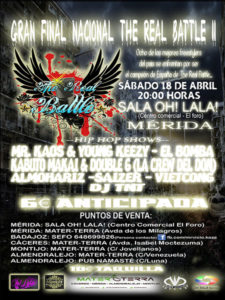 Final Nacional The Real Battle II