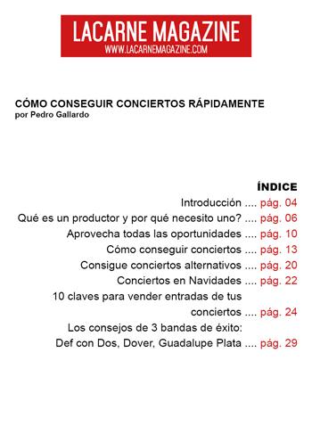 Como conseguir conciertos rapidamente sumario