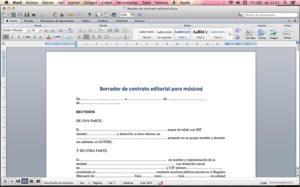 contrato editorial