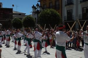 Danza de paloteo en Jaraiz de la Vera