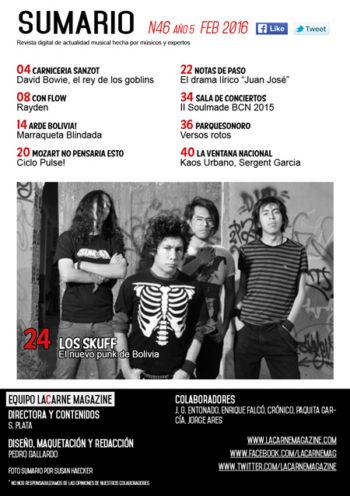 sumario N46 bolivia