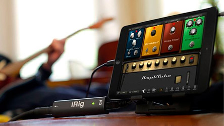 hacer música con iPad