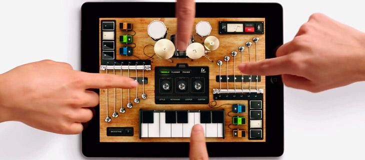 hacer musica con iPad