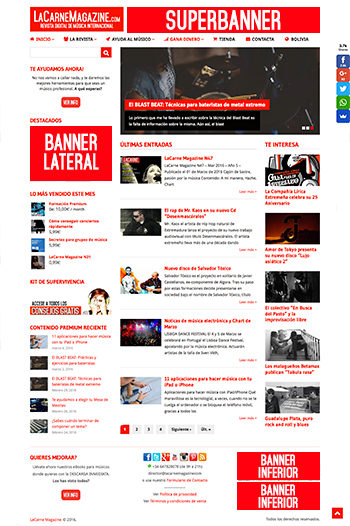 promocion en web