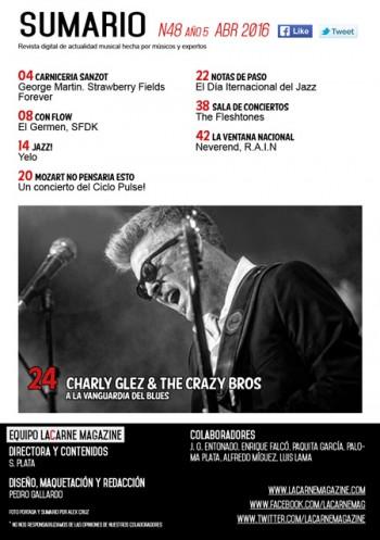 LaCarne Magazine N48 sumario 48